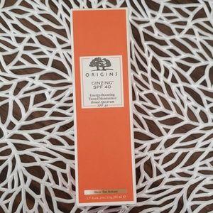 Origins NEW tinted moisturizer SPF 40